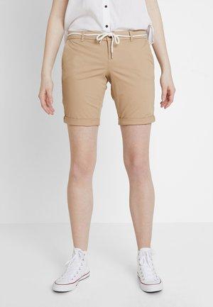 ONLPARIS BELT - Shorts - light brown