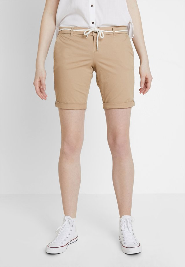 ONLPARIS BELT - Shorts - light brown