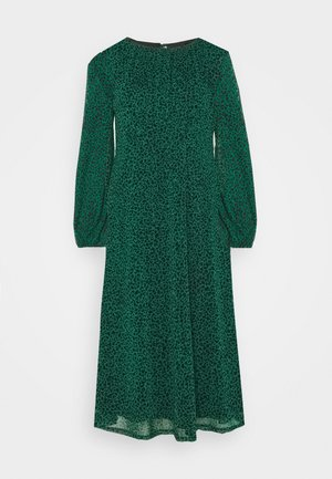LEOPARD DRESS - Korte jurk - green