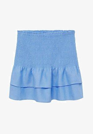 Mini skirt - bleu