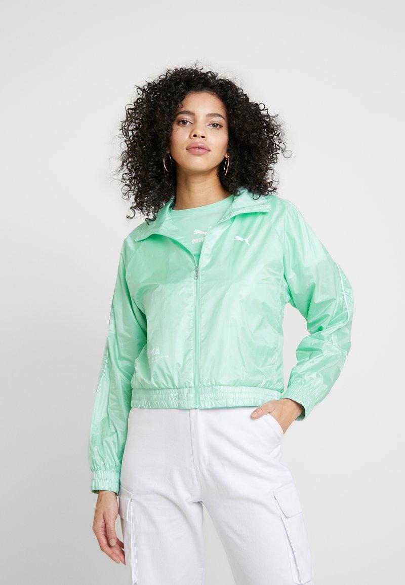 Puma - EVIDE JACKET - Waterproof jacket - mist green