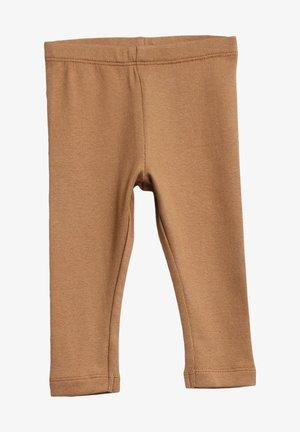 Leggings - Trousers - caramel