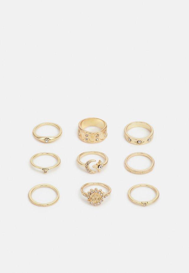 KRYSTI 9 PACK - Ring - gold-coloured