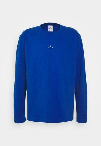 HANGER LONGSLEEVE - Top sdlouhým rukávem - blue
