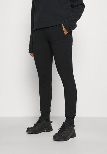 WOMAN LONG PANT - Pantaloni sportivi - nero