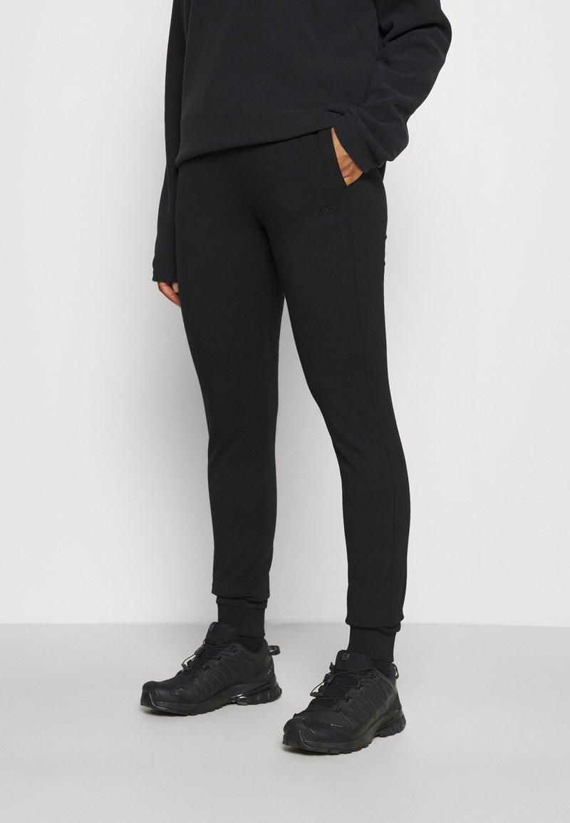 Campagnolo - WOMAN LONG PANT - Teplákové kalhoty - nero
