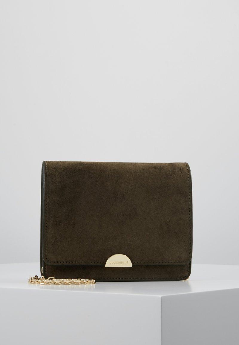 Coccinelle - HALF MINI BAG - Across body bag - reef
