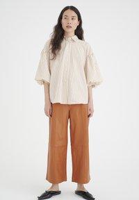 InWear - YOKOIW - Button-down blouse - honey stripe - 1