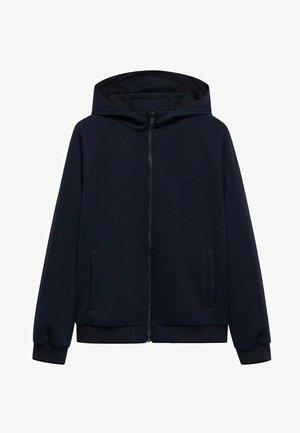 Zip-up sweatshirt - bleu marine foncé