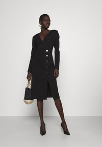 Pinko - ADLER ABITO PUNTO STOFFA - Jersey dress - black - 1