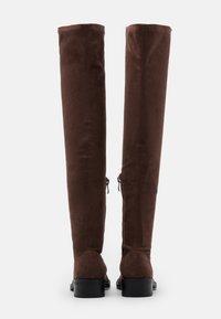 RAID - TAMARA - Høye støvler - brown - 3