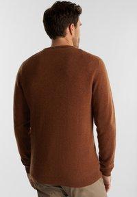 Esprit Collection - Jumper - rust brown - 2