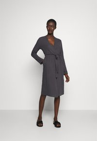 Anna Field - Dressing gown - dark grey - 0