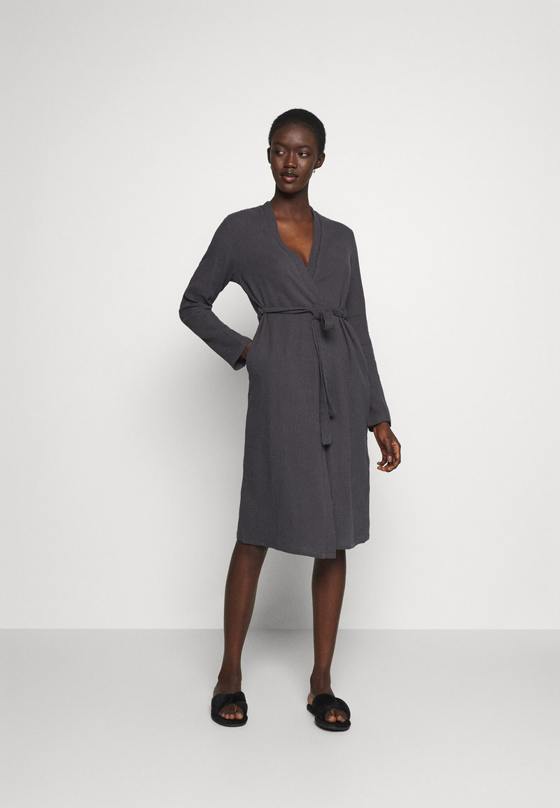 Anna Field - Dressing gown - dark grey