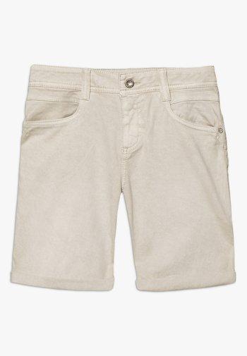 ALEXA BERMUDA - Denim shorts - dusty taupe brown