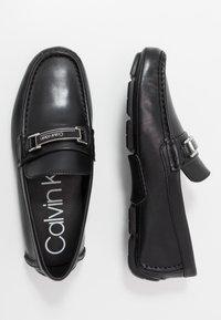 Calvin Klein - KIERSON - Moccasins - black - 1