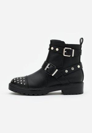 ONLBAD STUD BOOT  - Cowboy/biker ankle boot - black