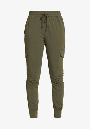 KASIGGI LINDA PANTS  - Tracksuit bottoms - grape leaf