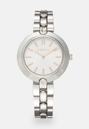 FURLA LOGO LINKS - Hodinky - silver-coloured