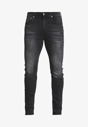 SLIM TAPER - Slim fit jeans - black