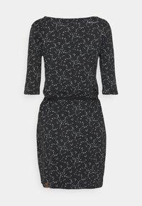 Ragwear - TAMY - Žerzejové šaty - dark grey - 6