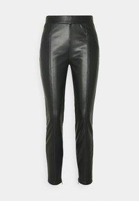 NMDUST LEGGING - Leggings - Trousers - black