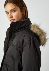 PULL&BEAR - Winter jacket - black - 4