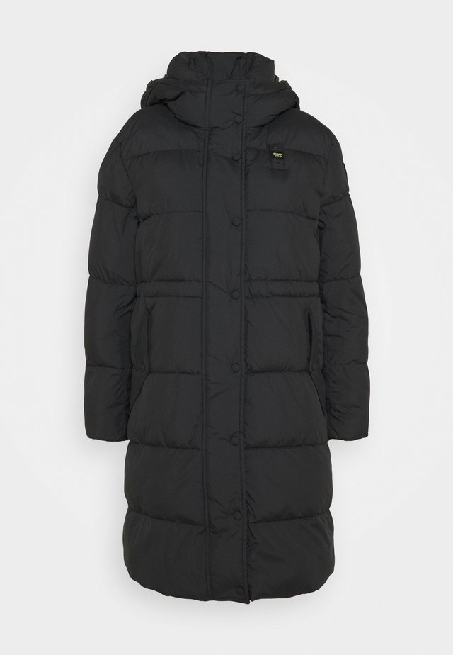 IMPERMEABILE LUNGHI IMBOTTITO - Winter coat - black