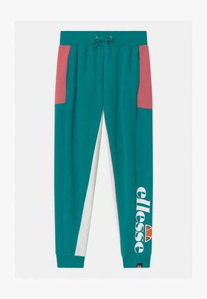 TEYANA - Tracksuit bottoms - teal