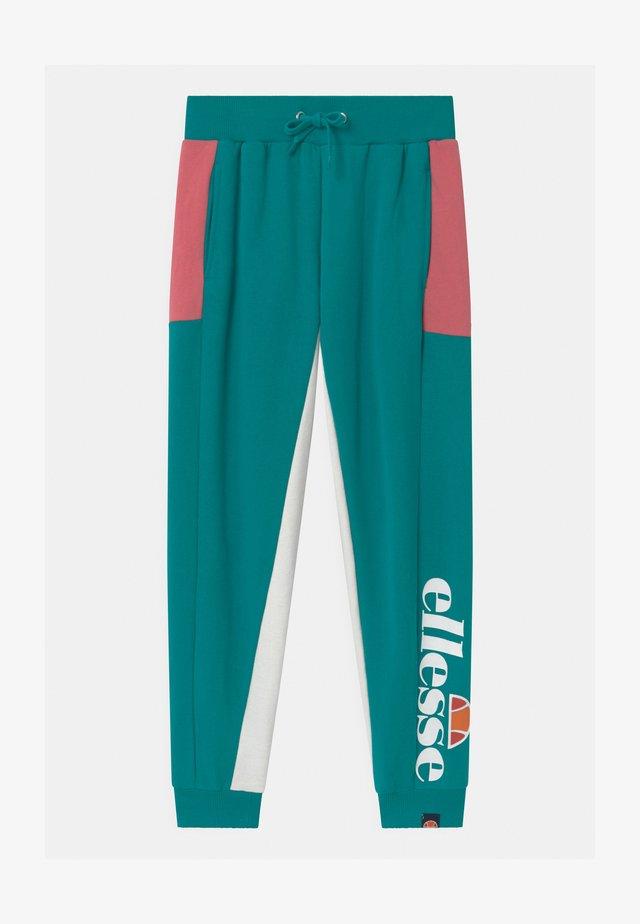 TEYANA - Teplákové kalhoty - teal