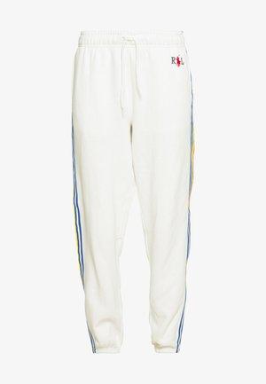 SEASONAL - Pantalon de survêtement - deckwash white