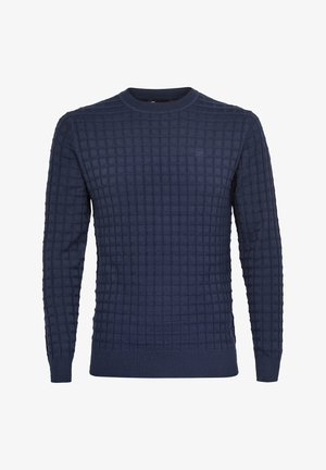 CORE TABLE ROUND LONG SLEEVE - Jumper - sartho blue