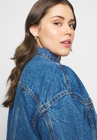 Missguided Plus - OVERSIZED JACKET - Giacca di jeans - indigo - 3