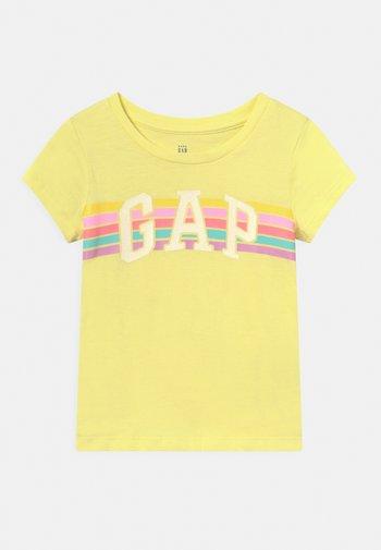 TODDLER GIRL LOGO - Print T-shirt - lime juice