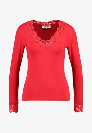 TRACY - Long sleeved top - tango red