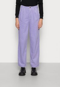 Wrangler - PLEATED BARREL - Trousers - lilac - 0