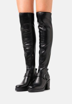 VICKIE  - Platform ankle boots - black