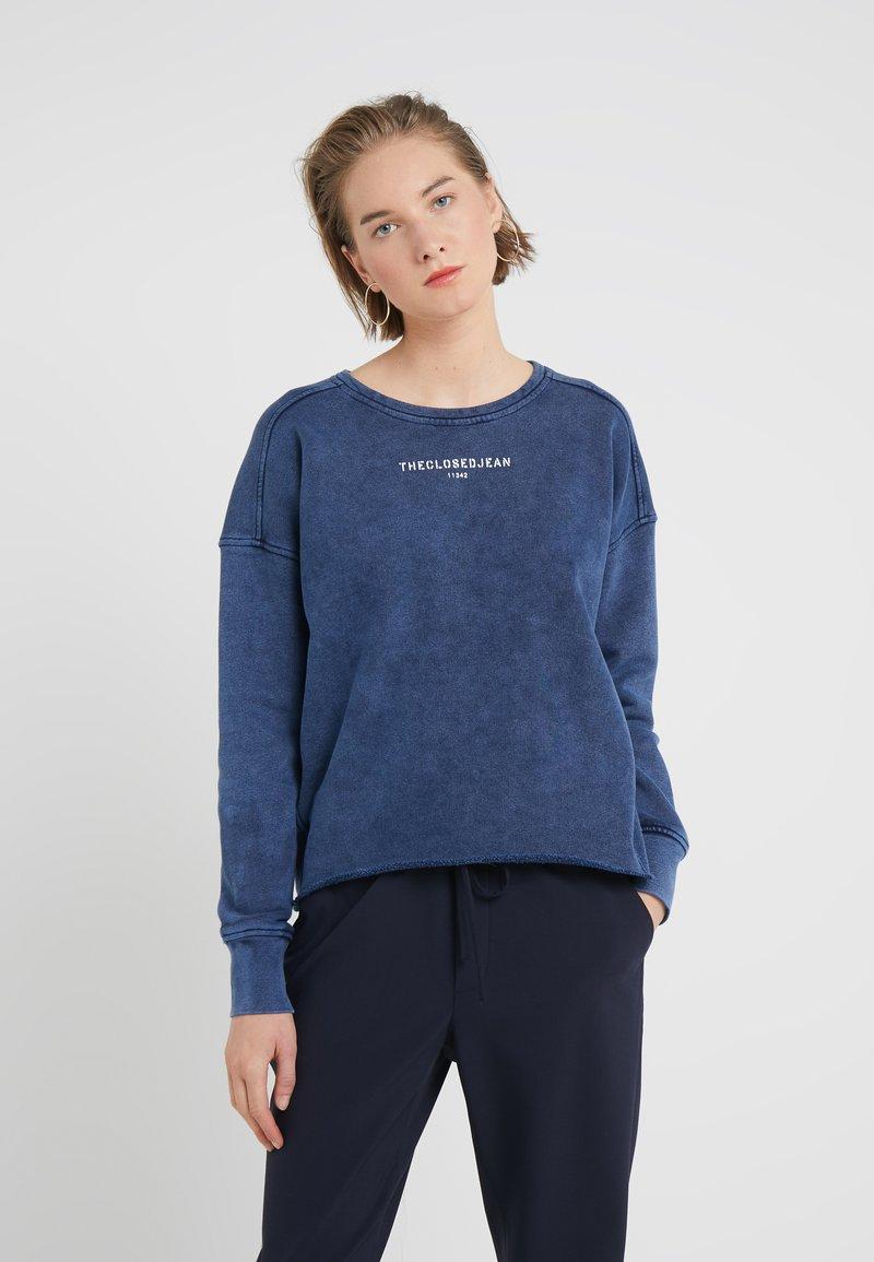 CLOSED - Felpa - polar blue