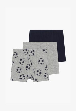 NMMTIGHTS FOOTBALL 3PACK  - Boxerky - grey melange