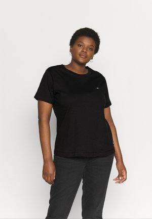 INCLUSIVE SMALLC NECK  - T-shirt basic - black