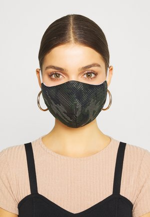 COMMUNITY MASK 2 PACK - Community mask - khaki/black