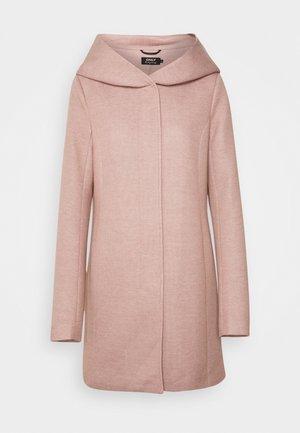 ONLSEDONA LIGHT COAT - Krátký kabát - mocha mousse