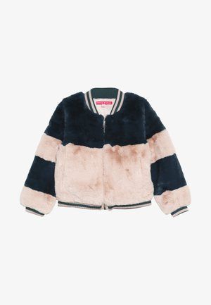 MARILOU - Bomber Jacket - vert/rose