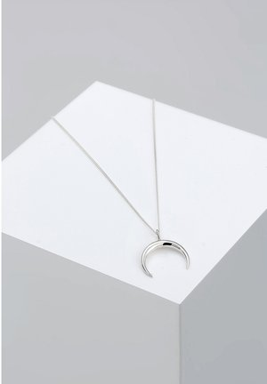 HALF MOON - Necklace - silver-coloured