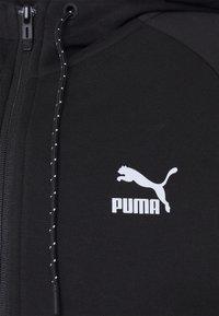 Puma - CLASSICS TECH HOODIE - Sweat à capuche zippé - puma black - 2