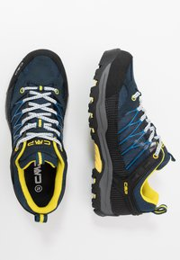 CMP - KIDS RIGEL LOW SHOE WP UNISEX - Hiking shoes - river - 0
