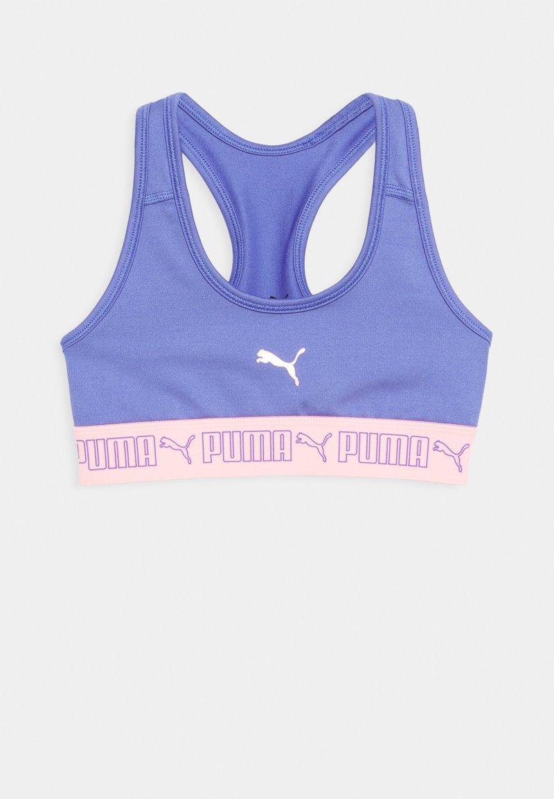 Puma - RUNTRAIN TOP - Sports bra - hazy blue