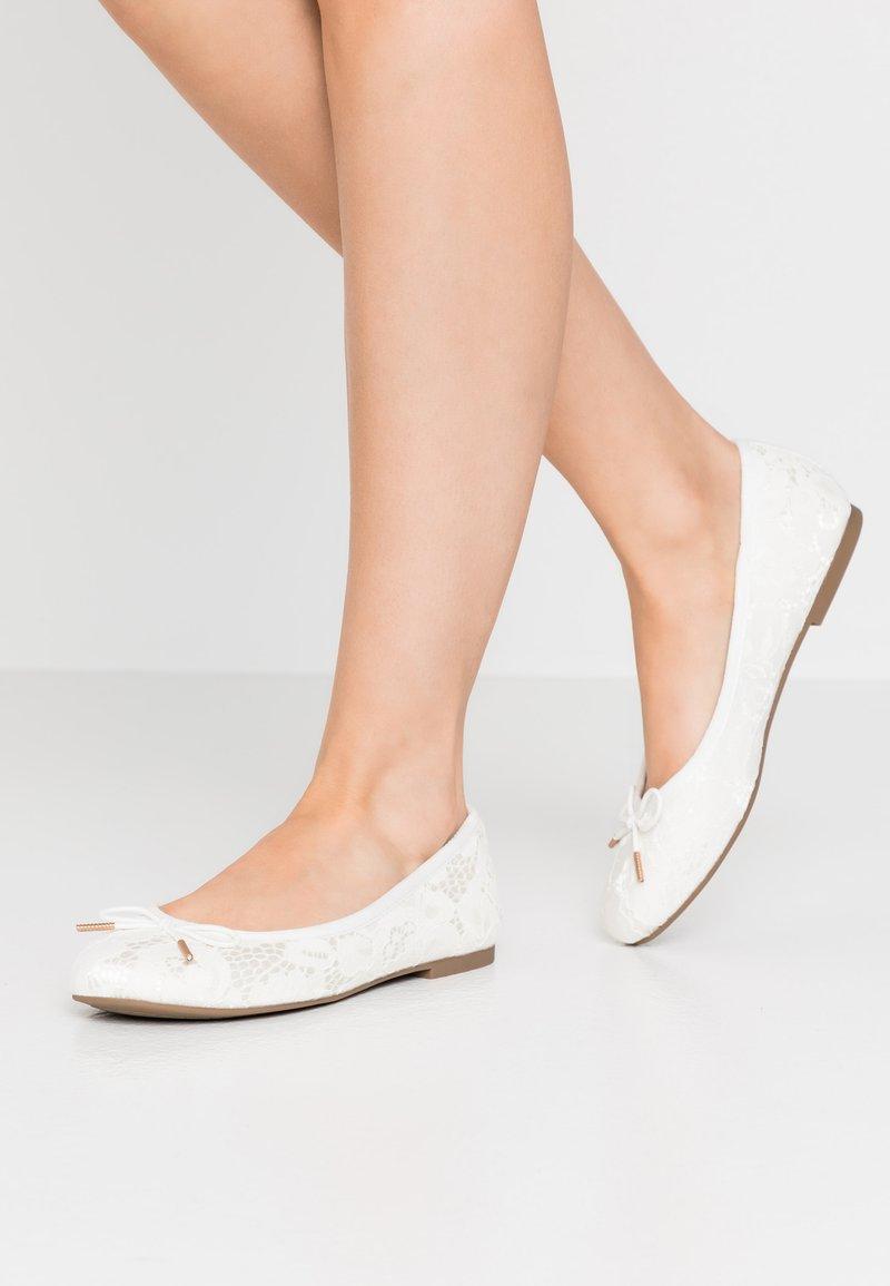 Tamaris - Ballet pumps - champagne