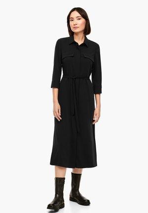 BLUSENKRAGEN - Shirt dress - true black