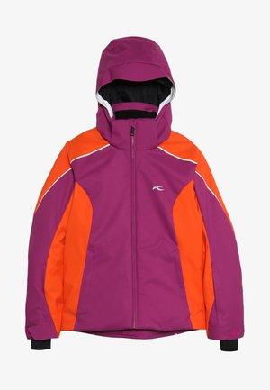 GIRLS FORMULA JACKET - Ski jacket - fruity pink/orange